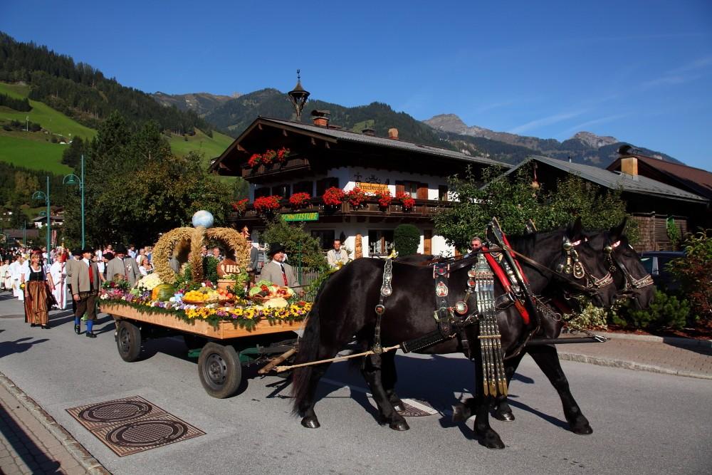 Erntedankfest in Großarl