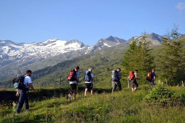 Geführte Bergtour auf den Keeskogel