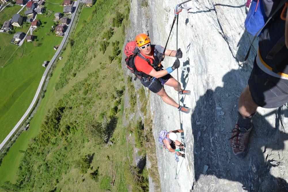 Klettersteigset Unterschiedlich Lang : Klettern tourismusverband großarltal