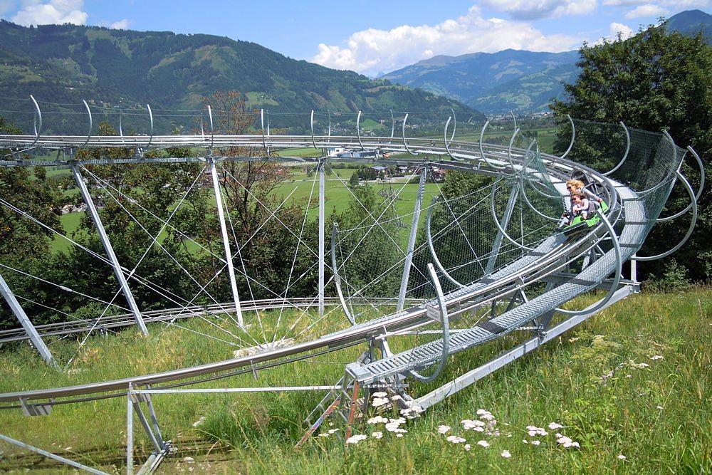 Alpine coaster in Kaprun
