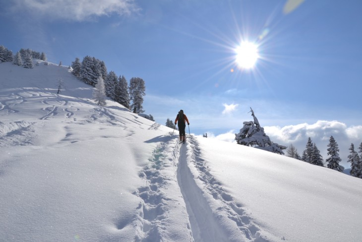 Ski touring in Grossarltal