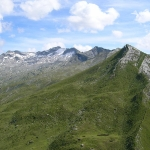 Blick zum Keeskogel - unser Gletscher im Großarltal