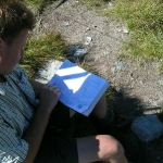 Gipfelbuch am Mureck