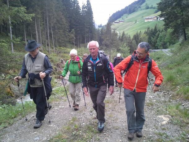 Wanderung mit Wanderführer Edi Huttegger