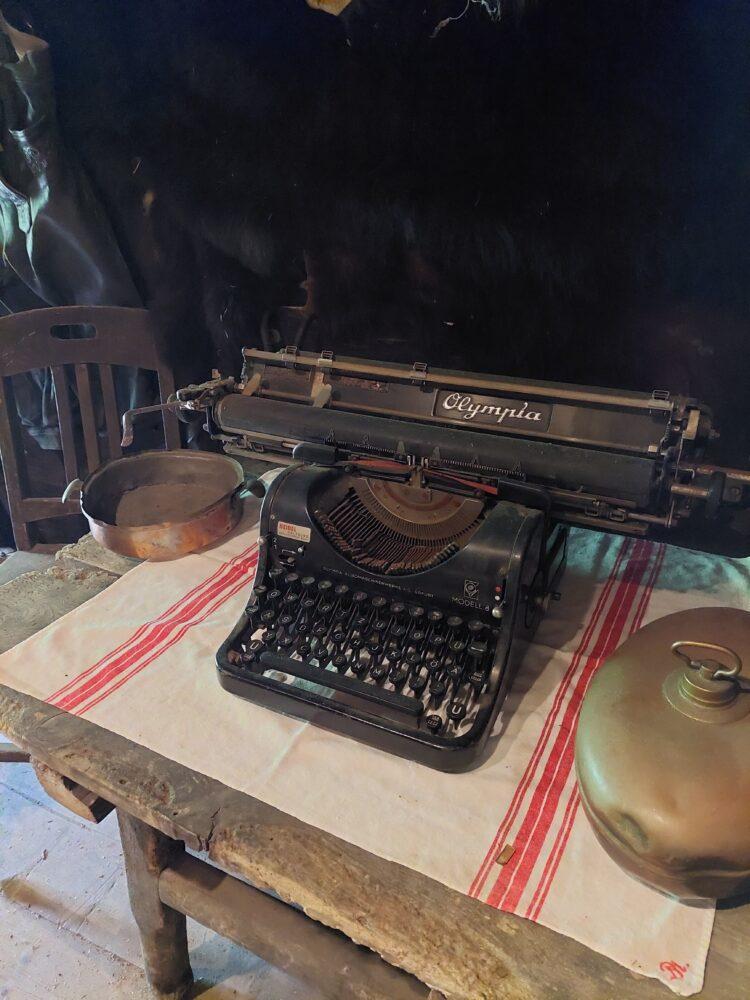 Schreibmaschine Kösslerhäusl