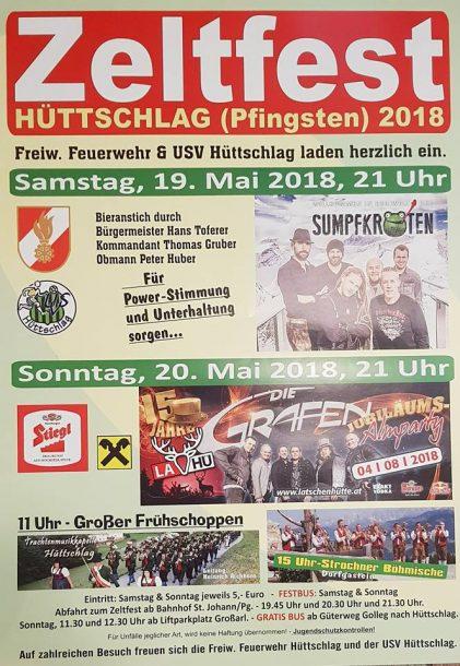 Zeltfest Hüttschlag