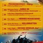 Programm Ladyskiwoche 2012