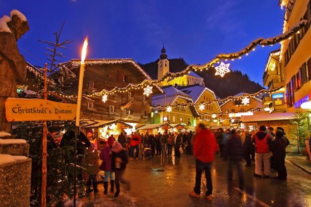 Adventmarkt Großarl am 8. Dezember 2011