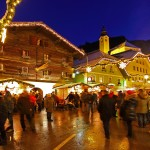Der Marktplatz von Großarl