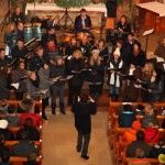 """Der Chor """"Tabula Rasa"""" beim Adventkonzert """"Moderne Weihnacht"""""""
