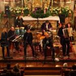 Die Sumpfkröten beim Konzert in der Pfarrkirche Großarl