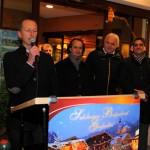 Bürgermeister Hans Rohrmoser bei seiner Festansprache zur Adventmarkt-Eröffnung