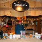 Traditionelles Handwerk und selbst gemachte Spezialitäten in den Adventhütten.
