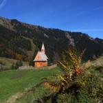 Die 2012 neu errichte Aigenalm-Kapelle