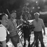 Sennin, Hiata und Bauer fertig für den Abmarsch