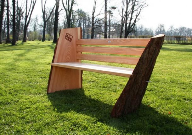 Und so sehen Sieger aus: Almsommerbank von Holzbau Unterkofler