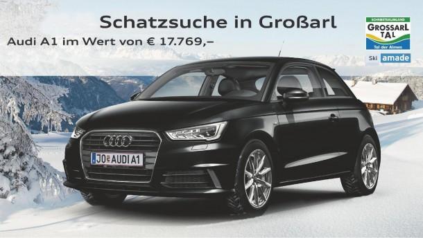 Gewinne einen Audi A1 TFSi intro