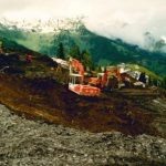 Bau Bergstation Panaormabahn 05.06.1990