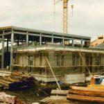 Bau Bergstation Panoramabahn 21.09.1990