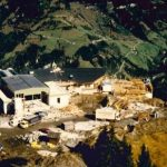 Bau Bergstation Panoramabahn 11.10.1990