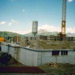 Bau Bergstation Panoarmabahn 25.07.1990