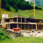 Bau Talstation Panoramabahn 10.07.1990