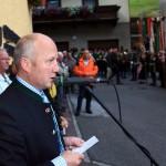 Bürgermeister Hans Toferer bei der Bauernherbst-Eröffnung 2010