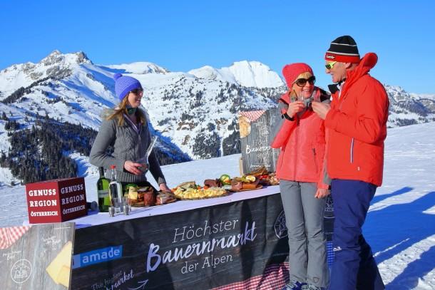 Live dabei - beim höchsten Bauernmarkt der Alpen in Ski amadé