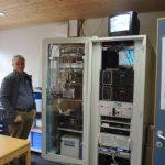 Bereich Netzwerktechnik und EDV mit Josef Rettenwender © Großarler Bergbahnen