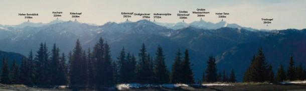 Berge Glockner-Platzl Großarltal
