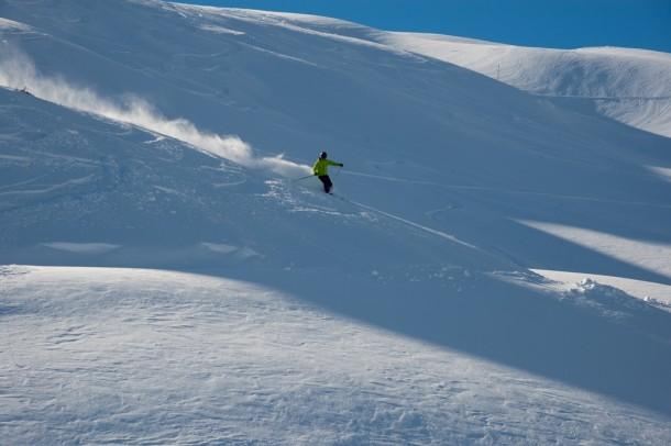 Der Schnee staubt und die Sunn scheint - frei nach Wolfgang Ambros