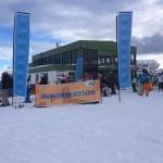 Das Zentrum des Skisicherheitstages - Bergstation Panoramabahn Großarltal