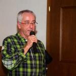 Autor Sepp Kendler bei der Präsentation