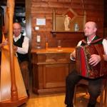 Sorgten für den guten Ton: Ambros und Hans von der Großarler Tanzlmusi
