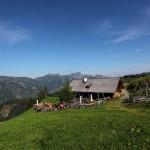 Die Bichlalm, 1.731 m - ein beliebtes Wanderziel im Großarltal