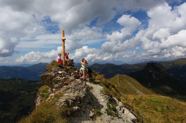 Gipfelrast am Filzmooshörndl, 2.189 m