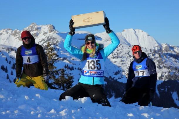 Im Testlauf war Christiane glückliche Finderin einer Holzbox