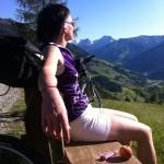 Blick ins Großarltal bei einer besonders schönen Rundtour über Maurachalm, Unterwandalm, Karseggalm und Breitenebenalm. Wahlweise auch noch mit einem Abstecher zur Großwildalm ergänzbar.