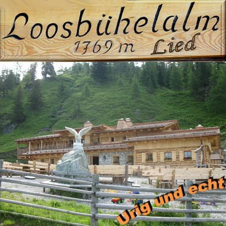 CD-Cover Loosbühelalm-Lied