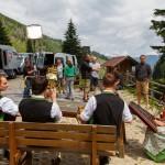 Tal-Berg-Musi an der Harbachalm
