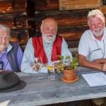 Die Forchers mit ORF-Fotograf Anton Wieser