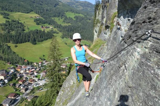 Klettersteiggehen mit Bergführer Sepp Inhöger