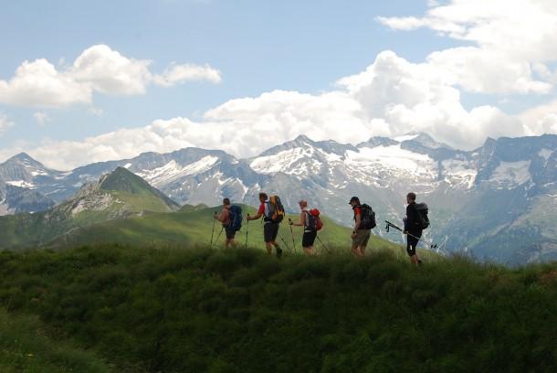Herausfordernde Etappen der Großarltalrunde mit Bergführer Peter Gamsjäger