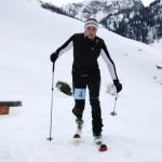 Zieleinlauf des Siegers Florian Ganitzer