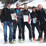Die 3 Sieger mit Bürgermeister Josef Golleger und Vizebürgermeister Hans Ganitzer