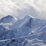 Föhnsturm über Alpenhauptkamm