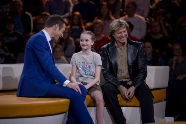 Kai Pflaume, Johanna Prommegger und Hansi Hinterseer