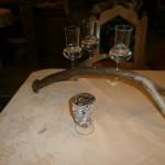 Dessert - total nützlicher Einsatz für ein Hirschgeweih