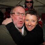 Rick und Wies Porters in Feierlaune