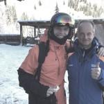 Vlogger Enzo Knol (links) und Blogger - jetzt ist mir doch glatt der Name entfallen - (rechts)